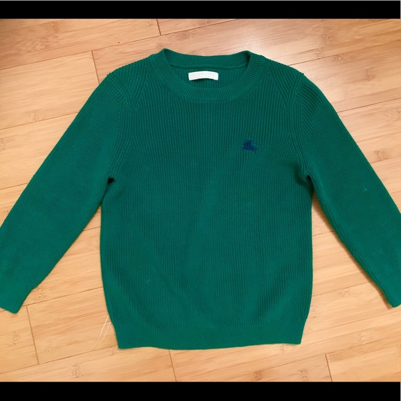 Burberry Other - Authentic Burberry Boys sweater green
